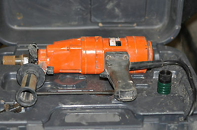 Weka 1203 Diamond Products Core Drill with new bits. 230 volt.