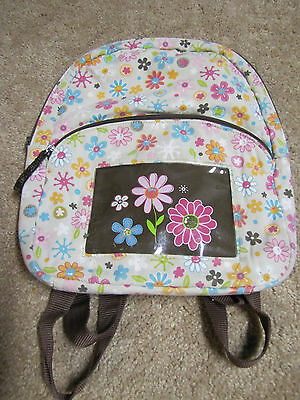 Thirty One 31 toddler girls floral backpack