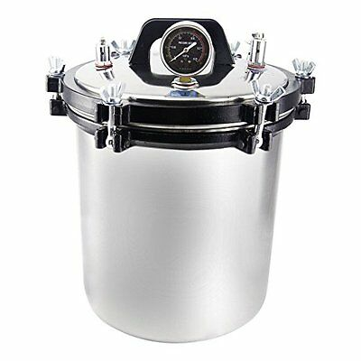 Orion Motor Tech 4.7Gal / 18L Stainless Steel Steam Autoclave Sterilizer