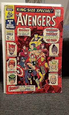 The Avengers King-size special 1