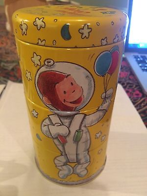 """Curious George Collectible 6"""" Stacking Tin"""