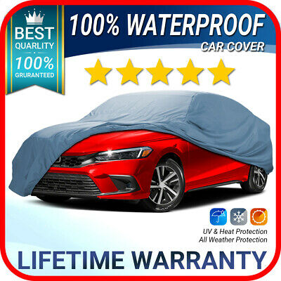 Fits. Honda Civic Del Sol [Custom-Fit] Weatherproof Car Cover- Lifetime Warranty