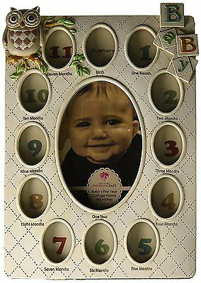 Fashioncraft Baby's First Year Collage Frame Picture Frame