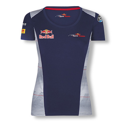 Scuderia Toro Rosso F1 Official Women's Teamline T-Shirt - 2017 - size XS