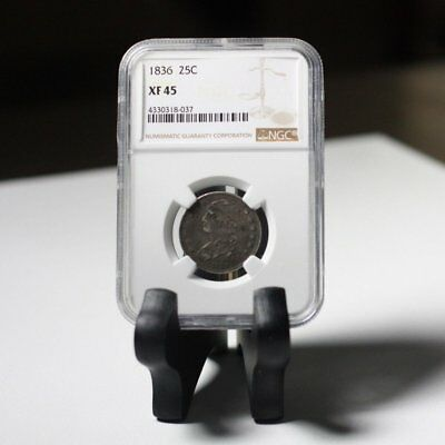 1836 Capped Bust Quarter NGC XF45 ***Rev Tye's Coin Stache*** #8037360