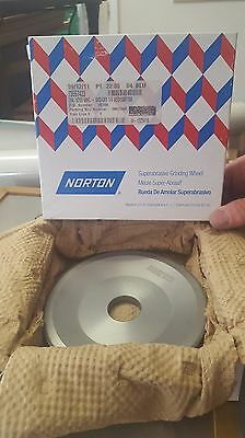 "Norton 6""x3""x4x1 1/4"" Diamond Superabrasive Grinding Wheel"