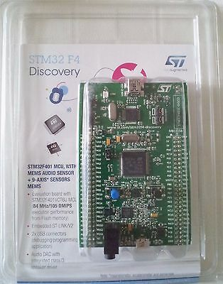 STM32 F4 DISCOVERY Kit for STM32F401 MCU