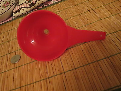 Tupperware Large Funnel Kitchen Gadget Red