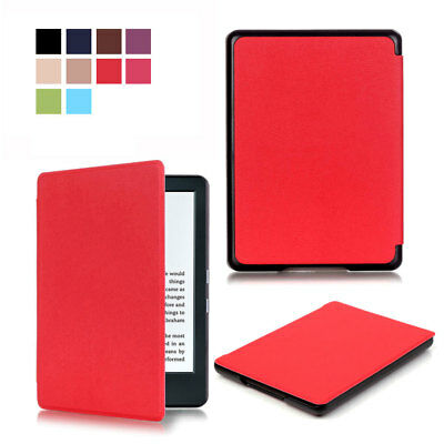 AUTO SLEEP/WAKE LEATHER Cover Case For Amazon All-New Kindle