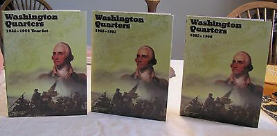 1932-1998 Washington Quarter Year Set with silver coins