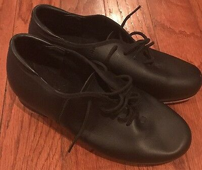 Tap Dance Shoes Theatrical's Women Black Size 6 Style 19500