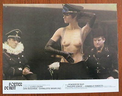 THE NIGHT PORTER (1974) 9 Rare Original French Lobby Cards Charlotte Rampling
