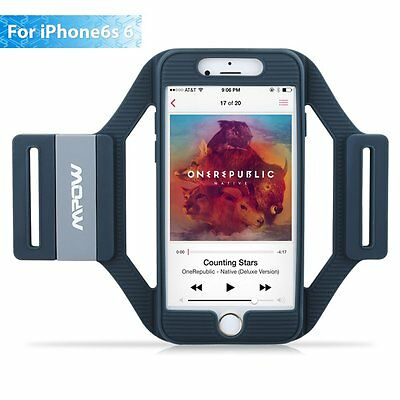 For iPhone 6 6s 7 Mpow Sports Gym Armband Case Cover Holder Running Jogging US