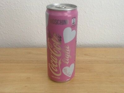 Coca Cola Light Moschino Pink Soda Can From Italy