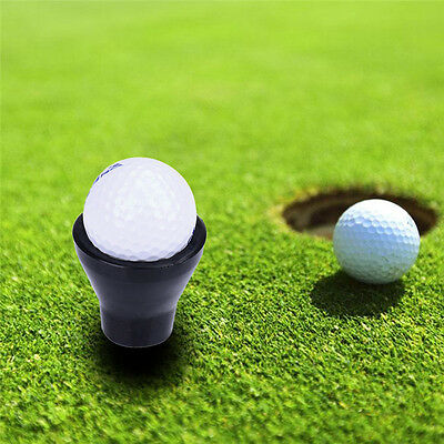Black Golf Ball Pick-up for Putter Grip Rubber Putter Sucker Pickup Suction Cup