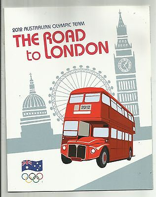 2012  Australia Olympic Team The Road To London Stamp Pack    M.n.h.  Rare