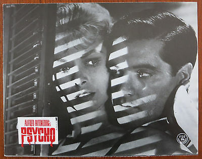 PSYCHO (1960) 8 Original German Lobby Cards R83 Alfred Hitchcock Janet Leigh