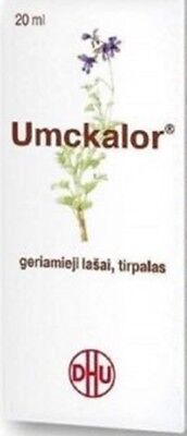 UMCKALOR -  Oral Drops- Acute and Chronic Infections of Respiratory Tract-20ml