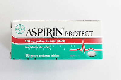 Aspirin Protect 100 mg Bayer Gives Your Heart Healthy Life gastro-resistant 40 t