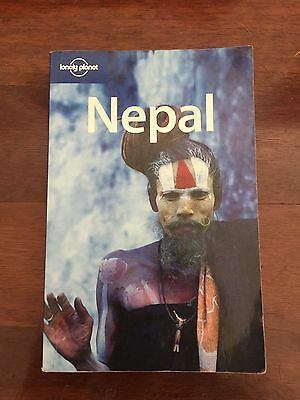 Lonely Planet Used Nepal Travel Guide Book Aus Stock