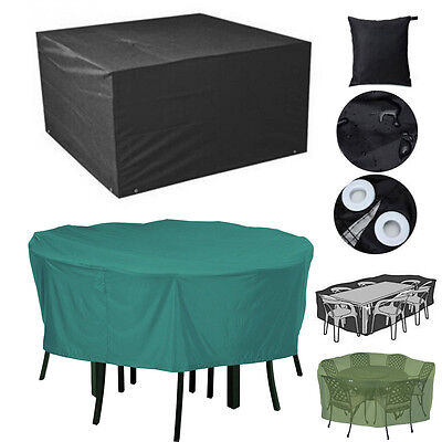 Waterproof Cover for Outdoor Rattan Furniture Table Swing Stacking Chair Parasol