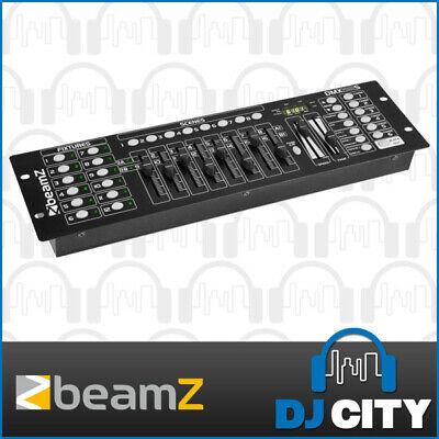 Beamz DMX192S DMX DJ Lighting Desk Console Operator 192 Channel Controller