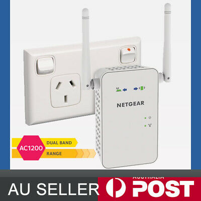 Netgear EX6150 AC1200 1200Mbps Dual Band Wireless Range Extender WiFi Booster AC