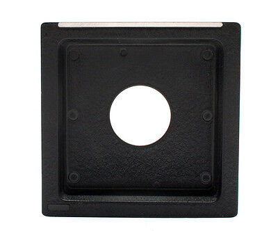 Toyo 12mm Recessed Lens Board with Copal 0 Opening for Toyo View Cameras 24926