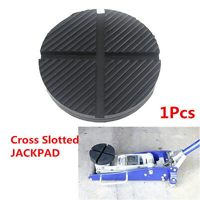 1 Pcs Cross Slotted Jack Pad Car Frame Rail Adapter for Pinch Weld Side JACKPAD