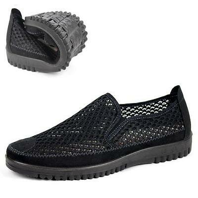 New Mens mesh breath slip on sport sandals outdoor casual shoes sneaker Sz 10.5