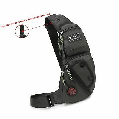 Nicgid Sling Bag Chest Shoulder Backpack Fanny Pack Crossbody Bags for Men