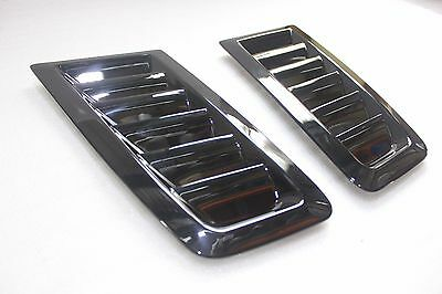 Universal Bonnet Vent Hood Vent FOCUS RS MK2 Style ABS Plastic Ford Glossy Black
