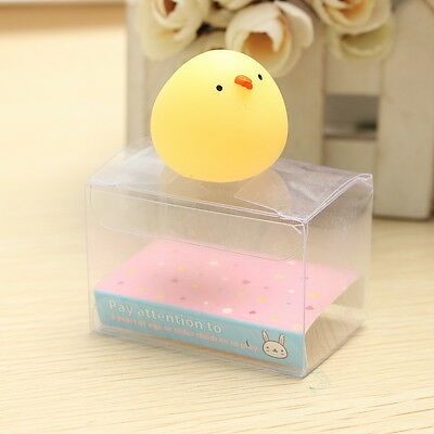 Fat Chicken Squishy Squeeze Cute Healing Toy Collection Stress Reliever Gift TPR