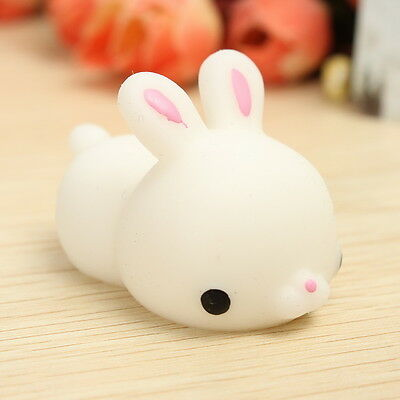 Bunny Rabbit Squishy Squeeze Cute Healing Toy Collection Stress Reliever Gift