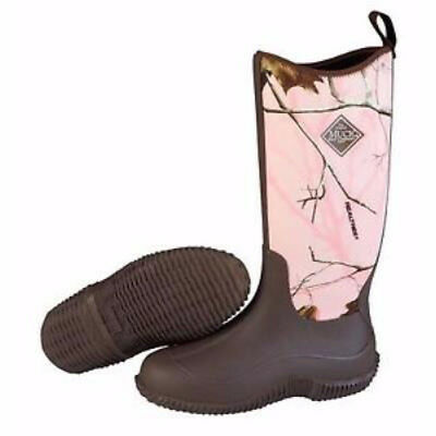 Muck Boots Muck Womens Hale Boot Brown Pink Realtree Apc Size 9 Haw-4Rap-9