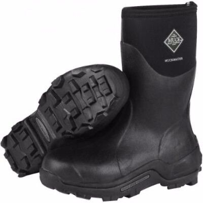 Muck Boots Muck Muckmaster Mid Black Size 11 Mmm-500A-11