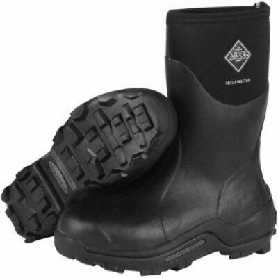 Muck Boots Muck Muckmaster Mid Black Size 8 Mmm-500A-8
