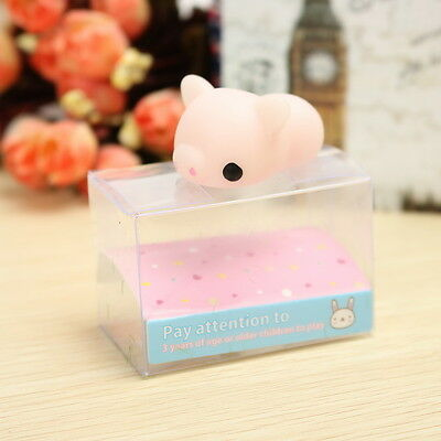 Pink Piggy Squishy Squeeze Pig Cute Healing Toy Kawaii Collection Stress Relieve