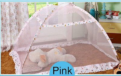 Baby Mosquito Bug Net Pop Up Folding Tent without Bottom Cover for Travel Picnic