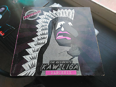 Maxi 12'' The Residents - Kaw-Liga (Dancemix) - Ginger Spain 1987 Vg