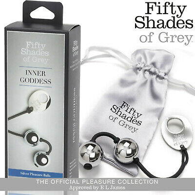 Palline vaginali in metallo Inner Goddess by Fifty Shades of Grey Silver balls
