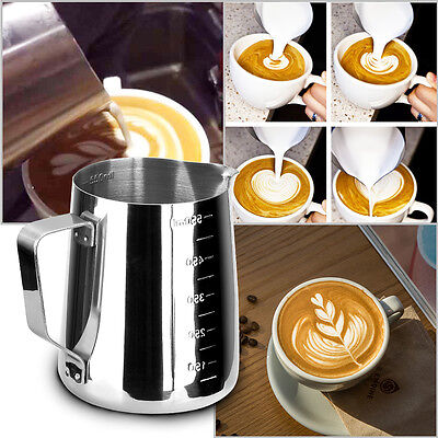 Stainless Steel Frothing Pitcher For Latte Art Milk  Coffee Jug Cup Kitchen Tool