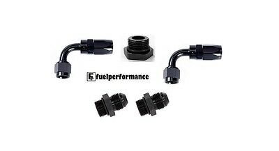 Universal Fuel Pressure Regulator AN Fitting KIT 6AN SWIVEL - AEM AEROMOTIVE