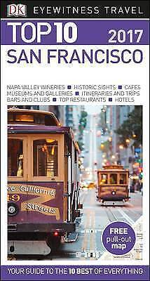DK Eyewitness Top 10 Travel Guide San Francisco, DK, New Book