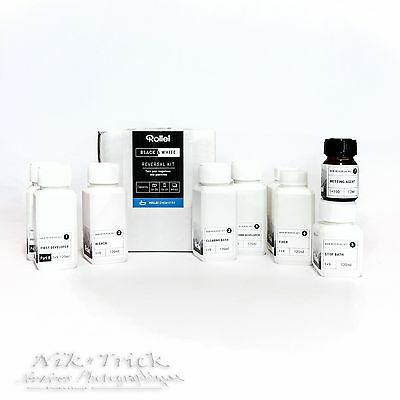Rollei Black & White Reversal Kit for 20 Films ~ Brand New Product in the UK!