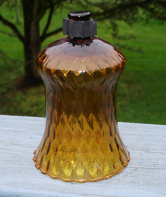 "1 Pc Homco Honeycomb Gold  Glass Votive Candleholder W/ Grommet 5"" Height"