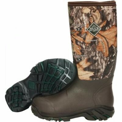 Muck Boots Muck Woody Sport Cool Boot Mossy Oak Country Size 10 Ws2-Moct-10