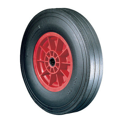 Atlas Workholders Rubber Tyre Polyprop' Ctr280Mm-25Mmb Wheel R/Brg