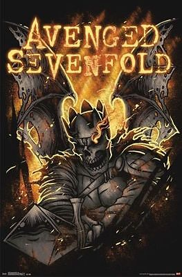 2014 AVENGED SEVENFOLD SHEPHERD OF FIRE POSTER NEW 22x34 FREE SHIPPING