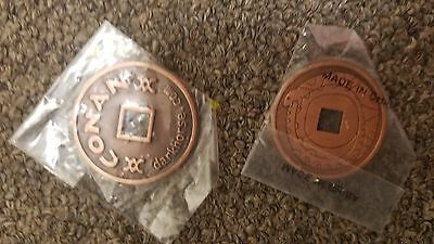 Conan the Barbarian Darkhorse bronze color promo coin sealed never opened NICE